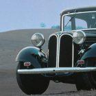 El BMW 303 fue el primer vehículo mediano en incorporar un motor de 6 cilindros en línea