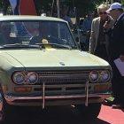 Exhibe Nissan una legendaria Datsun Pick Up 521 en el Concurso de Elegancia en Texas