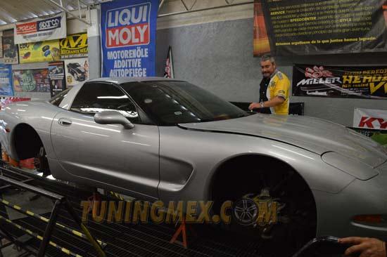 Este es el auto elegido para ser el Demo de los productos HANGAR1
