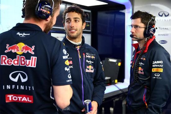 Piloto: Daniel Ricciardo
