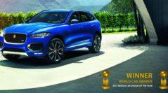 """El Jaguar F-PACE ganó dos títulos en el """"World Car Awards"""" 2017"""