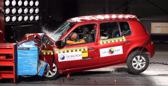 Renault Clio cero estrellas