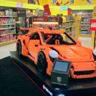 Llega a México el Porsche de tamaño real hecho con LEGO®