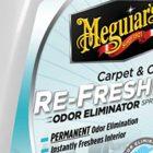 Anunció Meguiar's el lanzamiento de su nueva Carpet & Cloth Re-Fresher con tecnología que elimina olores