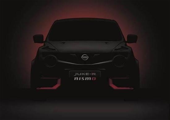 Nissan JUKE-R regresa transformado por la tecnología NISMO