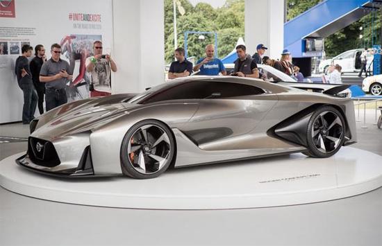 El vehículo concepto Nissan Concept 2020 Vision Gran Turismo, protagonizó el show en la pasada edición del Festival de la Velocidad de Goodwood.
