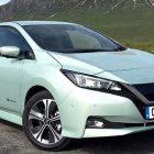 Supera el nuevo Nissan LEAF el Three Peaks Challenge en Reino Unido