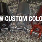 Nuevo Acabado y personalizado programa de colores para motocicletas