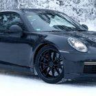 Fotos espías de Próxima generación Porsche 911 Turbo