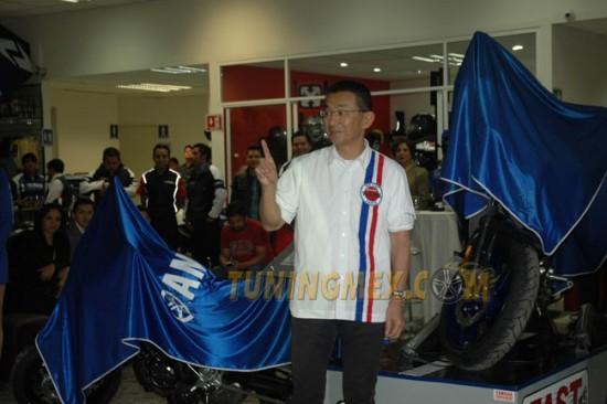 Yoshihiko Takahashi, presidente de Yamaha Motor de México