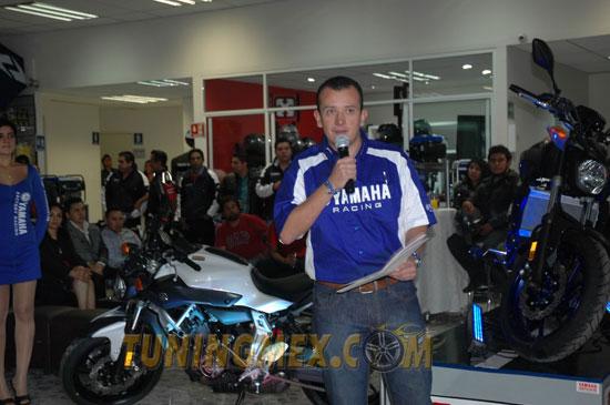 Luis Adrián Cruz, gerente nacional de Mercadotecnia de Yamaha Motor México