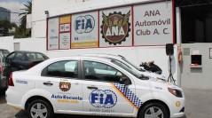 Inauguran  la escuela de manejo FIA-ANA
