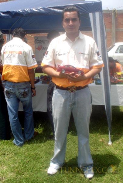 Román Torres presidente del Club Cutter Make,