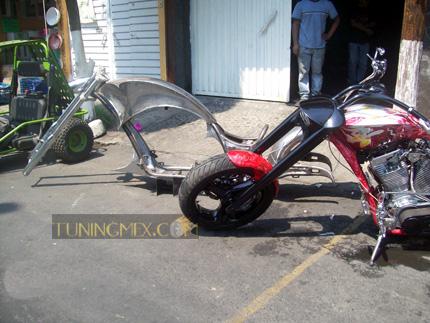 Beey Motorcycle Frame | Tuningmex.com