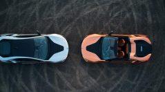 El nuevo BMW i8 Roadster y el nuevo BMW i8 Coupé
