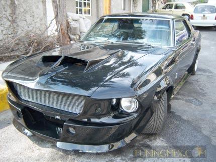 otro muestra de creatividad mustang 1969 logos de autos autos chocados ...