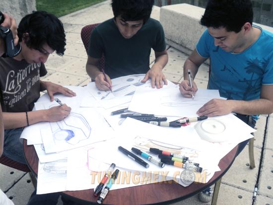 estudiantes de diseño automotriz de rigoletti casa de diseño