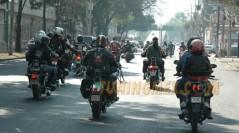 Mega Rodada por el festejo del día del motociclista y a favor de la donación de órganos