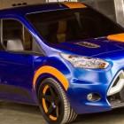 Ford Transit Connect 2014 consigue el  SIZZLING NEW LOOK CORTESÍA DE Hot Wheels en el SEMA