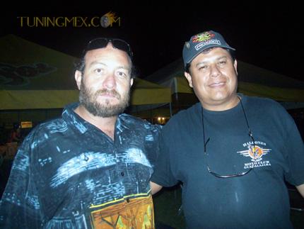 Enoc Bonnabel y Francisco Preciado, Presidente de Halcones de Jalisco