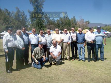 Iniciadores del Escuadrón Acrobático de Jalisco