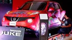 Apoyó Nissan Juke el talento y la pasión por el arte en la tercera edición del Affordable Art Fair México 2014