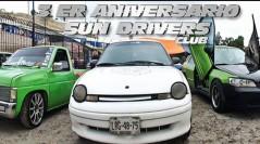 Festejó a lo grande el Club Sun Drivers su primer aniversario