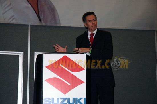 David Hernández, director comercial de Suzuki