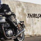 Clásica y deportiva a la vez, Thruxton R y la Bonneville Thruxton