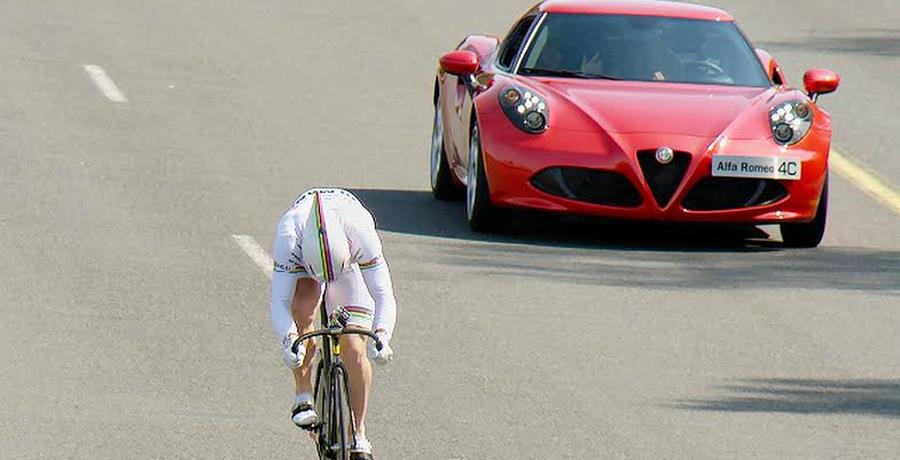 Photo of ¿Puede un hombre ser más rápido  que el Alfa Romeo 4C?