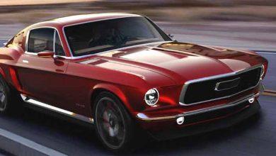 Photo of El Aviar Motors R67, parece Mustang pero es un eléctrico ruso