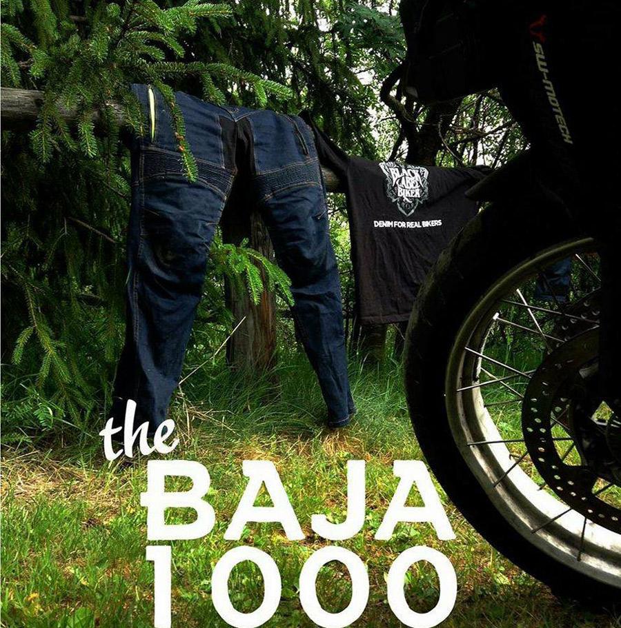 Photo of Presentó BLACK LABEL BIKER los jeans BAJA 1000
