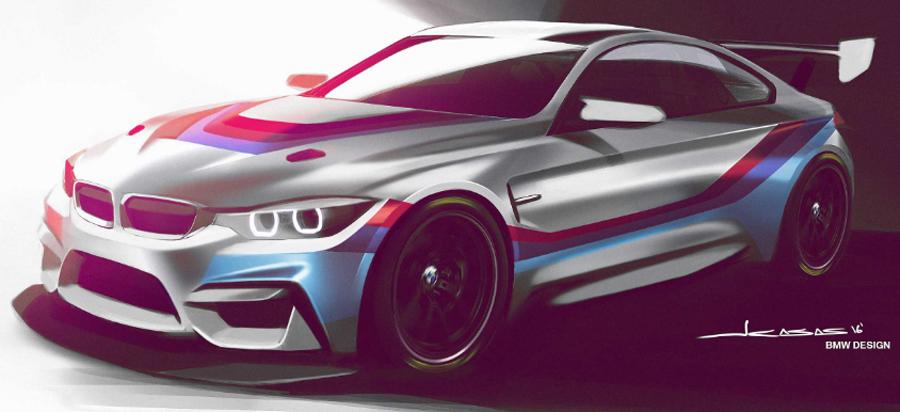 Photo of BMW extiende su gama de vehículos en el automovilismo deportivo con el BMW M4 GT4 a partir de 2018