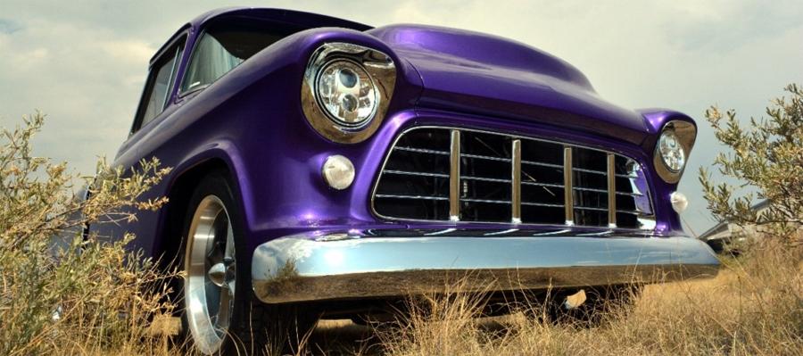 Photo of Todo en la familia:  Pickup Chevrolet Cameo LS3-Powered 1955
