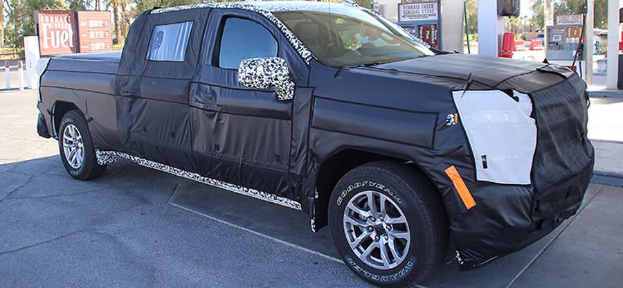 Photo of Ahora en fotos espías: La Chevrolet Silverado 1500 diesel
