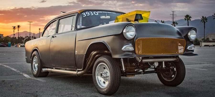 Photo of El increíble «Blasphemi» Chevy '55 con el poder de Holley EFI