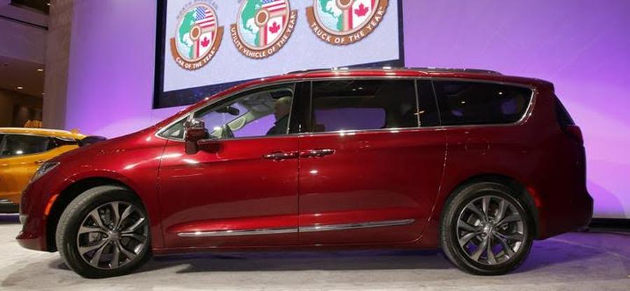 Photo of Nombran a la totalmente nueva Chrysler Pacifica 2017, vehículo utilitario del Año en Norteamérica