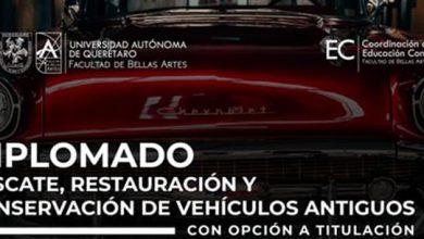 Photo of Convocatoria abierta para la 11va generación del diplomado «Rescate, restauración y conservación de vehículos antiguos»
