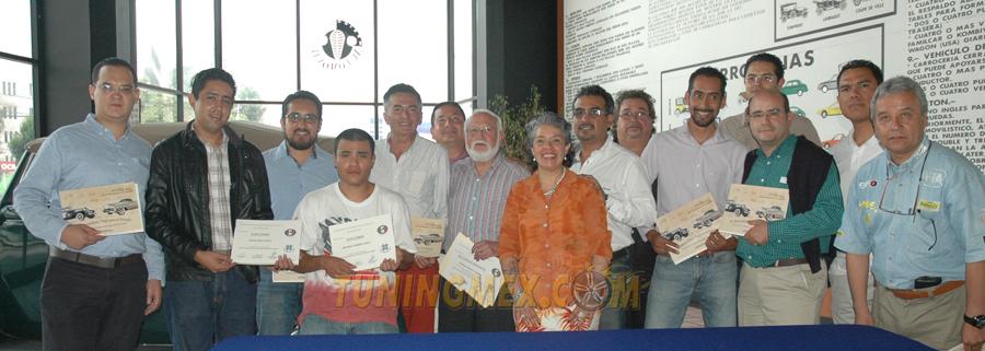 Photo of 7a. Generación del Diplomado en historia, rescate, restauración y conservación de autos antiguos