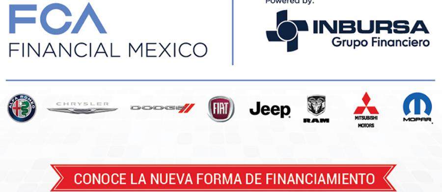 Photo of Anuncian FCA México y Grupo Financiero Inbursa, inicio de operaciones de FCA Financial Mexico