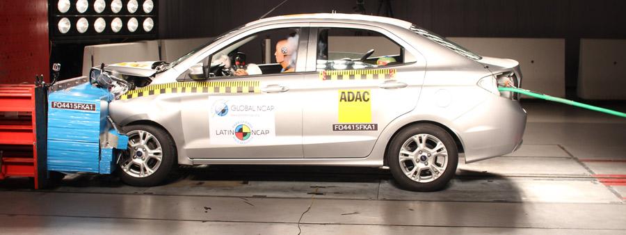Photo of Cero estrellas para el Ford Ka en la última prueba de choque de Latin NCAP