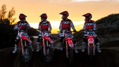Photo of Alineación ampliada de equipos de  soporte de Honda en AMA Supercross