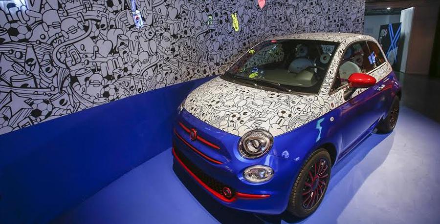 Photo of CAR-BONATED: GARAGE ITALIA CUSTOMS PRESENTA FIAT 500 Pepsi® «Live for New» CAR