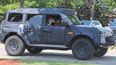 Photo of Ford Bronco Overland Sasquatch capturado de cerca