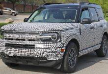 Photo of Ford Bronco Sport muestra una rejilla horizontal