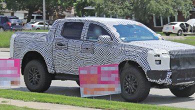 Photo of Ford Ranger Raptor '23 atrapado con barra antivuelco Wildtrak