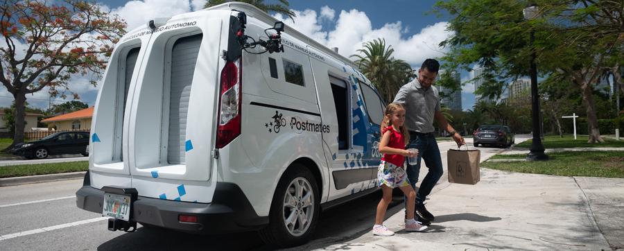 Photo of El nuevo vehículo autónomo Ford Transit Connect entrega de alimentos a domilicilio