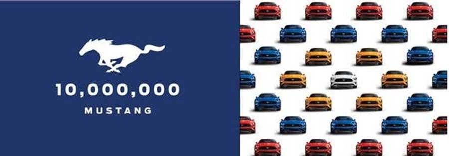 Photo of Celebra  Ford Mustang la producción de su automóvil número 10 millones