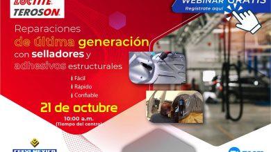 Photo of Webinar gratis Henkel, reparaciones de última generación con selladores