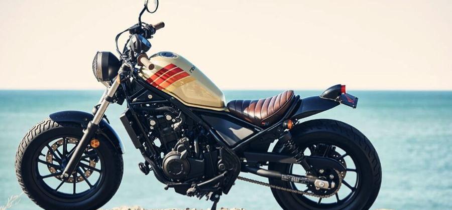 Photo of Presentan la motocicleta Honda Rebel + Aviator Nation en el SXSW